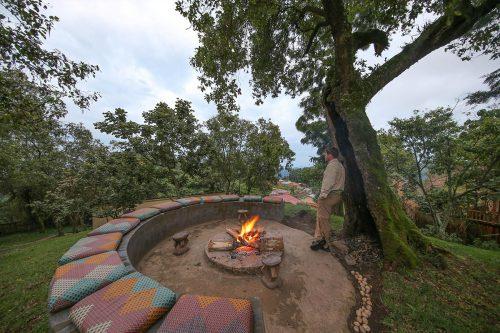 Nkuringo Bwindi Gorilla Lodge; uganda gorillas in the wild adventure