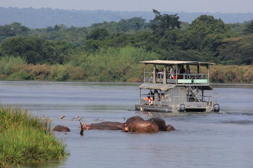 Boat Safari, boat launch trips on kazinga channel and the nile in murchison