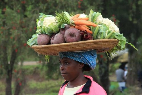 ugandan women at market