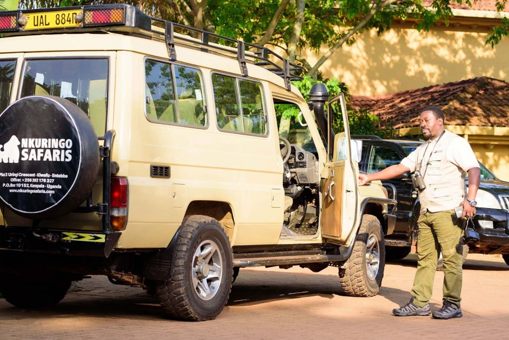 Nkuringo Safari Guides and Vehicles