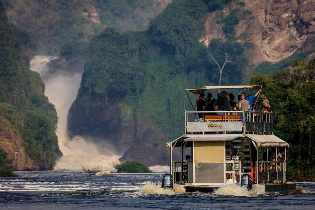 Boat Safari on the Nile in Murchison Falls National Park