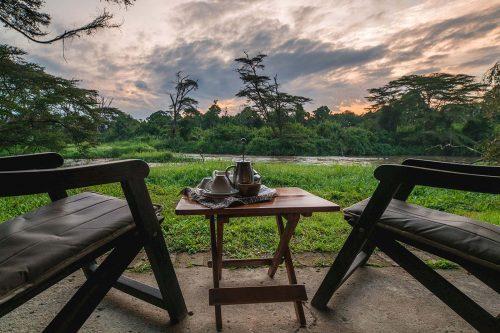 ishasha wilderness camp honeymoon safari in Uganda
