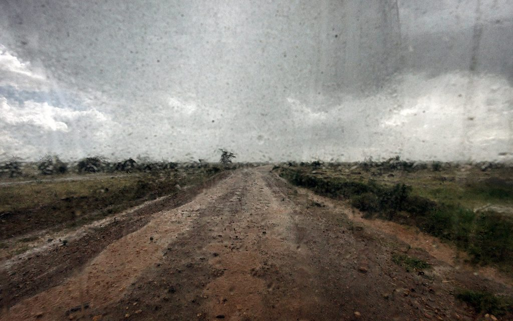 Heavy Rains on the Uganda plains. Best time for a trip to Uganda