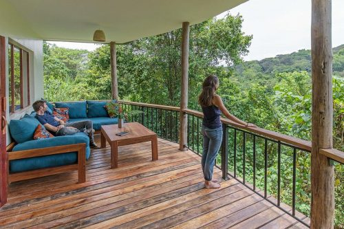 Turaco Treetops semi-luxury lodge near Kibale Forest National Park